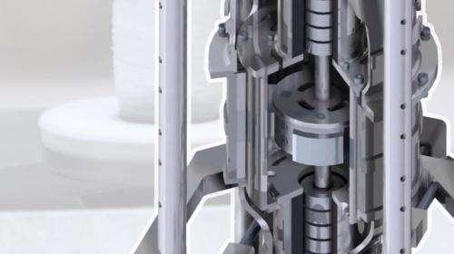 研究人员开发了一种磁悬浮齿轮